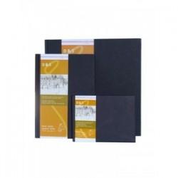 Livre de croquis et dessin D&S 140g/m², feuilles reliées