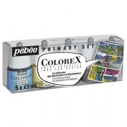 Set encres Colorex 5x 45ml