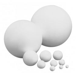 Boules en polystyrène plein