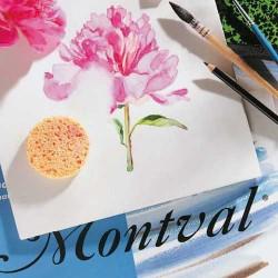 Papier aquarelle Montval grain fin en feuille