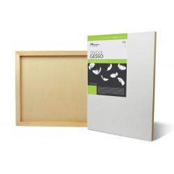 Support en bois avec Gesso Tavola, épaisseur 2cm