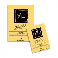 Bloc XL Bristol 180g/m², 50 fls collées