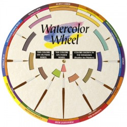 Disque chromatique pour aquarelle Color Wheel