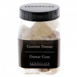 Gomme Dammar en grains, pot 100g