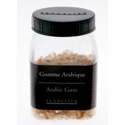 Gomme arabique en grains, pot 100g