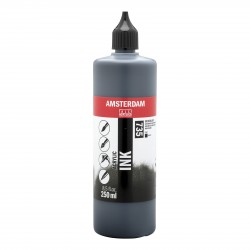 Encres acrylique Amsterdam, flacon 250ml