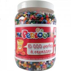 Baril 10000 perles à repasser Perlou