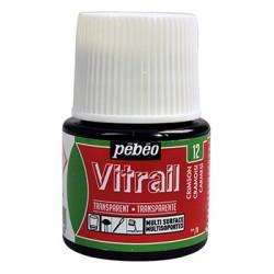 Peintures pour verre Vitrail, flacon 45ml