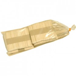 Sac de bâtonnets en bois assortis x275 pcs