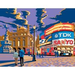 Peinture par numéros 30x40cm - Londres Piccadilly