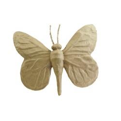 Papillon en papier maché - 22x25x4cm