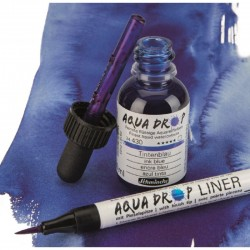 Feutre-pinceau rechargeable Liner Aqua Drop