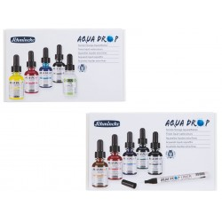 Sets d'aquarelle liquide Aqua Drop Schmincke 5x 30 ml