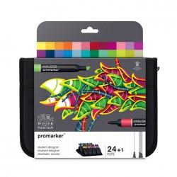 Trousse 24 feutres ProMaker - Etudiant Designer