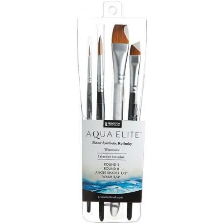 Set Professionnel pinceaux aquarelle Aqua Elite x4 pcs