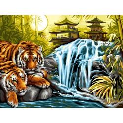 Peinture par numéros 30x40cm - Sérénité