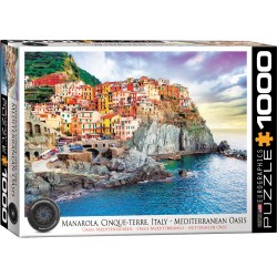 Puzzle 1000 pièces - Oasis méditerranéen