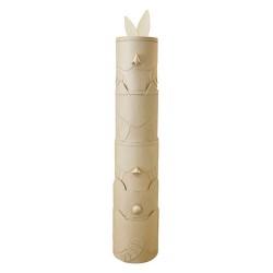 Totem XL en papier maché - 35x35x190 cm
