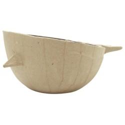 Cache-pot Oiseau Small en papier maché - 110x90x50 mm
