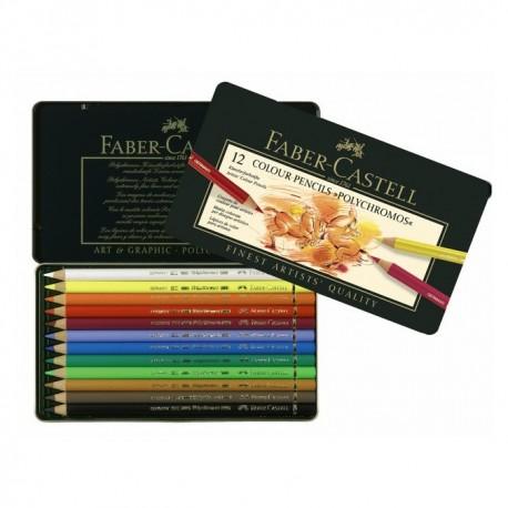 Boîtes crayons de couleur Polychromos - Faber Castell