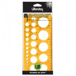 Trace-cercles pairs et impairs - Ø 2 à 40 mm