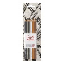Blister de 6 crayons Esquisse Conté à Paris