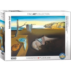 Puzzle 1000 pièces - La persistance de la mémoire de Dali
