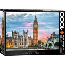 Puzzle 1000 pièces - Big Ben Londres