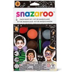 Palette de maquillage Halloween Snazaroo x11pcs