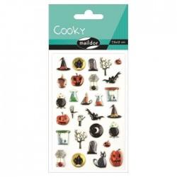 Stickers 3D Halloween - Halloween x29 autocollants
