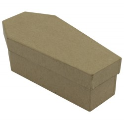 Boîte cercueil en carton - 4x6x12,5cm