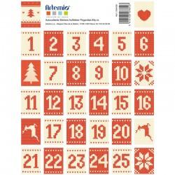 Stickers timbre x64pcs - Tricot