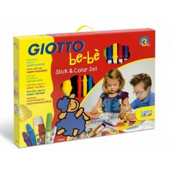 Set d'activité Giotto Bébè - Stick and Color