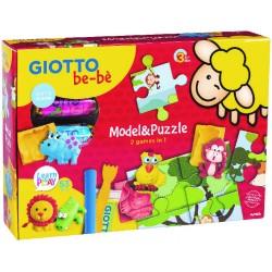 Coffret d'activités Giotto Bébè - My Model & Puzzle
