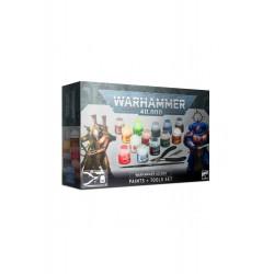 Set Warhammer 40000, peinture et accessoires
