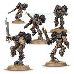 Set 5 figurines à peindre Warhammer 40000 - Raptors