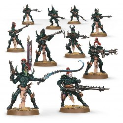 Set 10 figurines à peindre Warhammer 40000 - Kabalite warriors