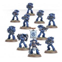 Set 10 figurines à peindre Warhammer 40000 - Space marine tactical squad