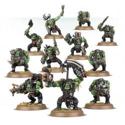 Set 11 figurines à peindre Warhammer 40000 - Ork Boys