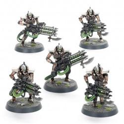 Set 5 figurines à peindre Warhammer 40000 - Necrons Immortals