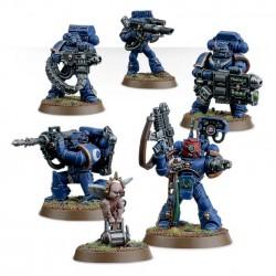 Set 6 figurines à peindre Warhammer 40000 - Devastator squad