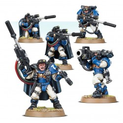 Set 5 figurines à peindre Warhammer 40000 - Scouts with sniper rifles