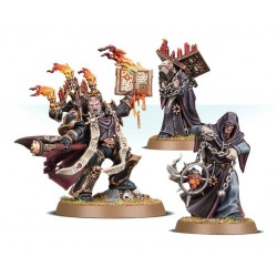 Set 3 figurines à peindre Warhammer 40000 - Dark apostle