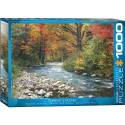 Puzzle 1000 pièces - Ruisseau en forêt