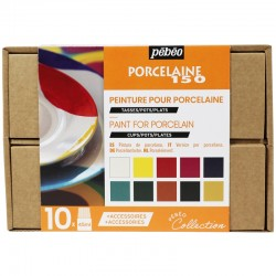 Coffret collection peinture Porcelaine 150, 10x45 ml