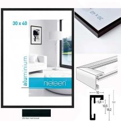 Cadres aluminium C2 - Noir Mat Brossé