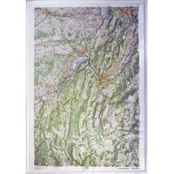 Carte en relief IGN Chartreuse / Vercors - 80x113 cm