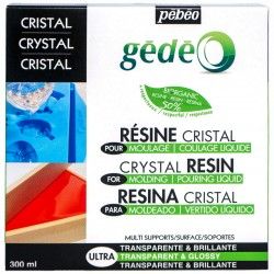 Kits résine cristal Biorganic Gédéo