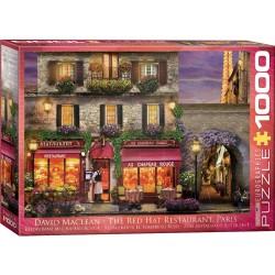 """Puzzle 1000 pièces - Restaurant """"Au chapeau Rouge"""""""