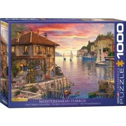 Puzzle 1000 pièces - Port méditerranéen